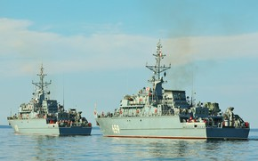 Picture minesweepers, Vladimir Yemelyanov, Георгий Курбатов