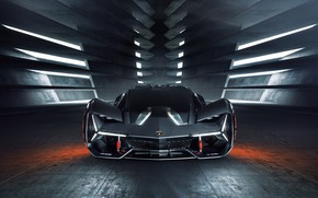 Picture Lamborghini, supercar, front view, hypercar, The Third Millennium