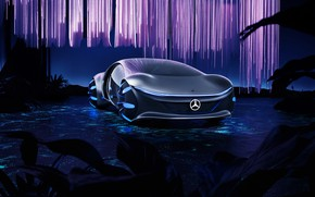 Picture transport, Mercedes-Benz, car, innovative concept car, VISION AVTR