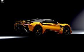Picture Auto, Orange, Rendering, Supercar, Concept Art, Sports car, SuperSport, Transport & Vehicles, Benoit Fraylon, by …