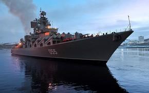 Picture cruiser, Murmansk, Atlant, Marshal Ustinov