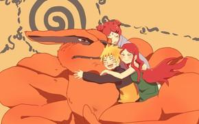 Picture Fox, Naruto, Naruto, Uzumaki Kushina, Uzumaki Naruto, Uzumaki, Kurama