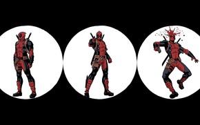 Picture Gun, Blood, Costume, Comic, Swords, Gun, Shot, Deadpool, Marvel, Deadpool, Marvel Comics, Comics, Wade Wilson, …