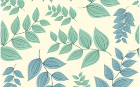Picture pattern, seamless, background, leaves