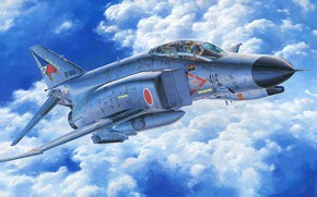 Picture Japan, Fighter, F-4EJ Phantom II, Combat aircraft