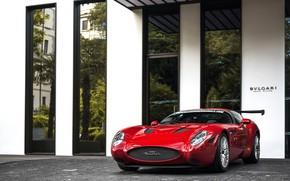 Picture Maserati, Red, Zagato, Mostro
