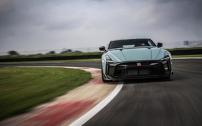 Picture Nissan, GT-R, on the track, R35, Nismo, ItalDesign, 2020, V6, GT-R50, 720 HP