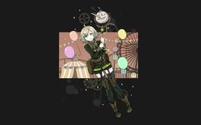 Picture art, black background, Pinocchio, Sinoalice