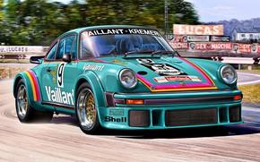 Picture Germany, RSR, racing car, Porsche 934, Valiant