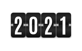 Picture figures, New year, New Year, 2021