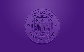 Picture wallpaper, sport, logo, football, Ligue 1, Toulouse