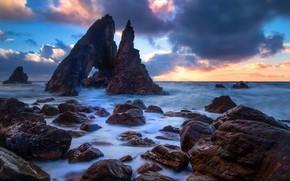 Picture stones, rocks, coast