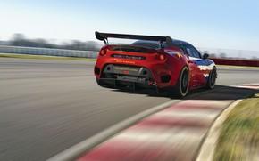 Picture Lotus, rear view, Evora, 2019, GT4 Concept