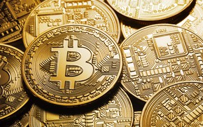 Picture blur, logo, logo, clarification, coins, bitcoin, bitcoin
