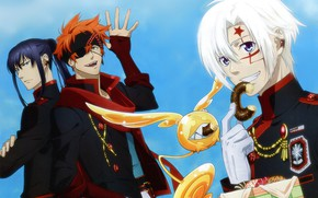 Picture the sky, guys, donut, D. Gray-man