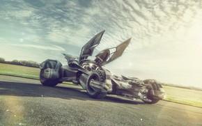 Picture field, design, transport, car, The Batmobile