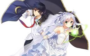 Picture magic, anime, Map, art, guy, the bride, characters, Rokudenashi Majutsu Koushi's Akashic Records