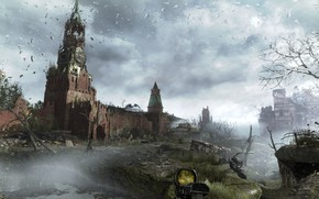 Picture Apocalypse, Moscow, metro, metro last light