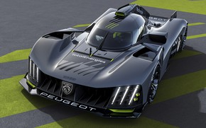 Picture high technology, high technology, 24 hours of Le Mans, гоночный гиперкар, PEUGEOT Neo-Performance, racing hypercar, …