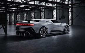 Picture Bugatti, hypercar, W16, 2019, One hundred and ten, Bugatti Centodieci, Bugatti EB110 SS