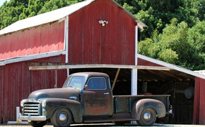 Picture Board, 150, side, facade, pickup, 2018, GMC, 1949, ICON, Long Bed Derelict, GMC 150