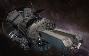 Wallpaper 3D graphics, space, spaceship