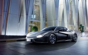Picture Concept, supercar, 2018, electric car, Qiantu, K50