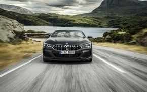 Picture BMW, convertible, front view, xDrive, G14, 8-series, 2019, Eight, M850i Convertible