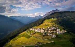 Picture Italy, Veneto, Italian Village, San Nicolo Di Comelico