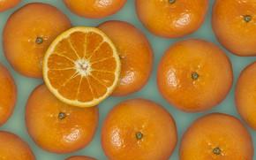 Picture oranges, fruit, fresh, leaves, leaves, orange, fruits