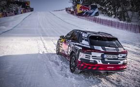 Picture snow, Audi, Quattro, bias, E-Tron, 2019
