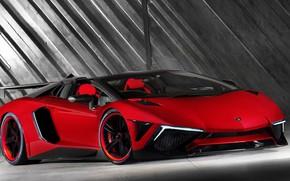 Picture Red, Auto, Lamborghini, Machine, Red, Car, Supercar, Aventador, Lamborghini Aventador, Sports car, Transport & Vehicles, …
