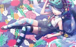 Picture Girl, lies, Hatsune Miku, Vocaloid, Vocaloid, Hatsune Miku, gesoking06