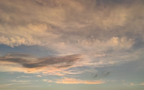 Picture Clouds, Sky, Sunset