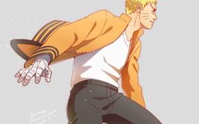 Picture guy, Naruto, Naruto, stand, Uzumaki Naruto