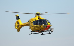Picture flight, helicopter, Airbus Helicopters, EC135 G-WPDB