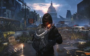 Picture machine, the city, devastation, Tom Clancy's The Division 2