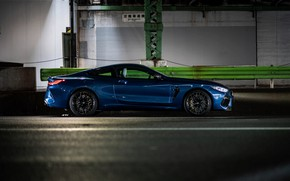 Picture coupe, BMW, side view, Coupe, 2020, BMW M8, two-door, M8, M8 Competition Coupe, M8 Coupe, …