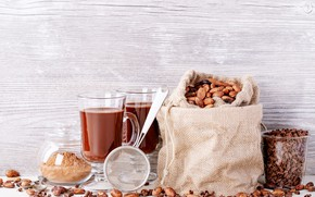 Picture hot, chocolate, drink