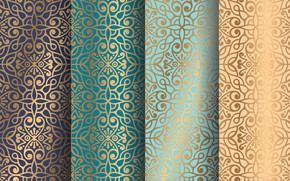 Picture gold, pattern, texture, ornament
