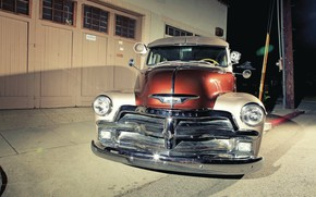 Picture Chevrolet, Old, Truck, Classic Car