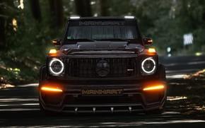 Picture lights, Mercedes-Benz, AMG, Inferno, G-Class, Gelandewagen, G63, Manhart, 2019, G 700