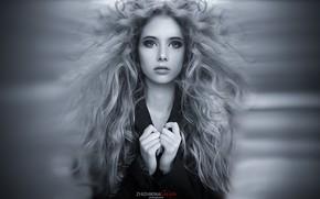 Picture lush hair, Galina Jijikine, which photographer, model XS, eye SBI, Cams on happiness, hair disheveled, …