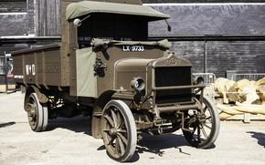 Picture retro, truck, classic