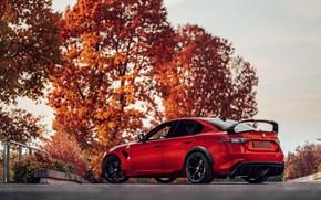 Picture autumn, Alfa Romeo, Giulia, GTAm, 2020, Gran Turismo Alleggerita changed