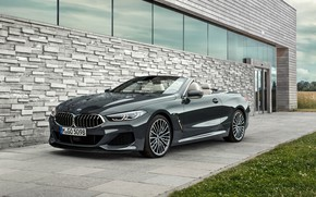 Wallpaper BMW, 2018, Cabrio, xDrive, G14, M850i, BMW M850i xDrive Cabrio 2018, BMW M850i xDrive Cabrio