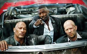 Picture Dwayne Johnson, Jason Statham, Dwayne Johnson, Idris Elba, Idris Elba, Jason Statham, ACE Gonzalez, Eiza …