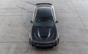 Picture Dodge, Charger, the view from the top, AWD, 2019, SpeedKore, SEMA 2019, Twin Turbo Carbon
