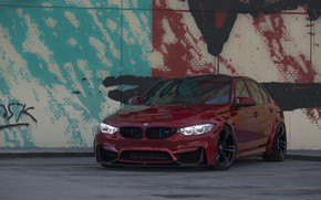 Picture BMW, Light, RED, F80, Angel eye