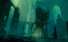 Picture Magic The Gathering, Richard Wright, Swamp, Return to Ravnica